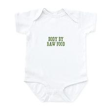Body By Raw Food Infant Bodysuit
