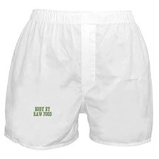 Body By Raw Food Boxer Shorts