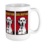 Obey the Dalmatian! Dog Large Mug