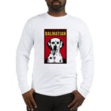 Obey the Dalmatian! Long Sleeve T-Shirt