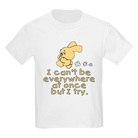 Everywhere Bunny Kids Light T-Shirt