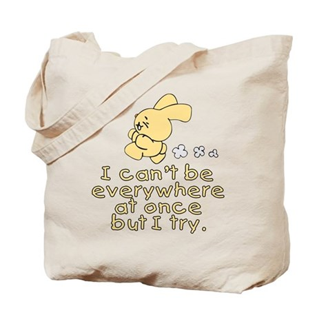 Everywhere Bunny Tote Bag