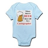 Cartographer Infant Bodysuit