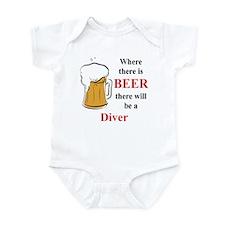Diver Infant Bodysuit