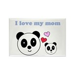 I LOVE MY MOM Rectangle Magnet (10 pack)