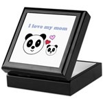 I LOVE MY MOM Keepsake Box