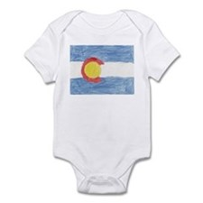 Colorado State Flag Infant Bodysuit