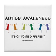 Autism Difference Tile Coaster