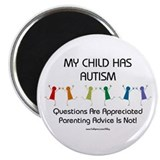 "My Child Has Autism 2.25"" Magnet (100 pack)"