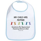 My Child Has Autism Bib