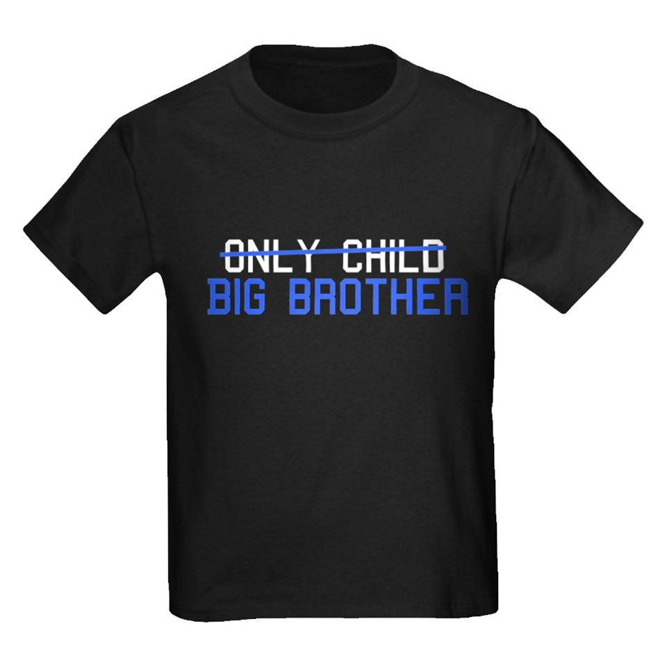 Only Child Big Brother T Shirts  Only Child Big Brother Shirts & Tee
