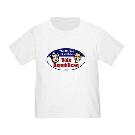 The Choice is Clear Toddler T-Shirt