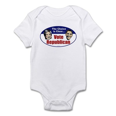 The Choice is Clear Infant Bodysuit
