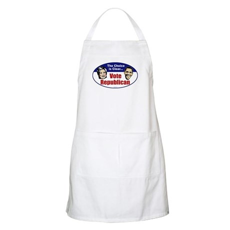 The Choice is Clear BBQ Apron