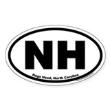Nags Head, NC Oval Decal