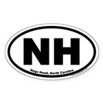 Nags Head, NC Oval Sticker