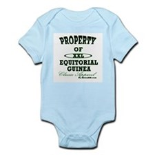 Property Of Equitorial Guinea Infant Creeper