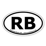 Rehoboth Beach, Delaware Oval Sticker