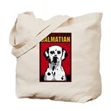 Obey the Dalmatian! Dog Tote Bag