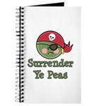 Surrender Ye Peas Pirate Journal