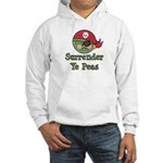 Surrender Ye Peas Pirate Hooded Sweatshirt