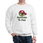 Surrender Ye Peas Pirate Sweatshirt