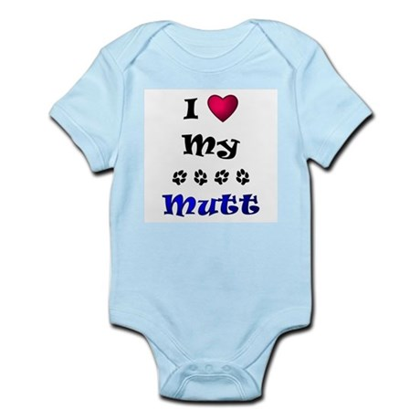 I Love My Mutt Infant Bodysuit