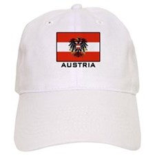 Flag of Austria Baseball Cap