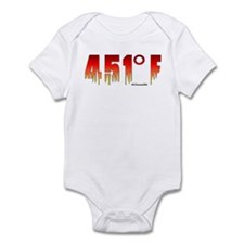 451 Degrees Fahrenheit Infant Bodysuit