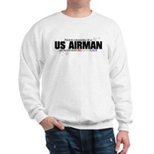 Red, white & blue AF Grandpa Sweatshirt