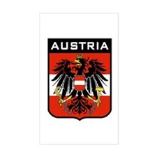 Austria Coat of Arms Rectangle Decal