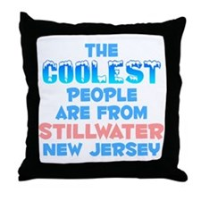 Coolest: Stillwater, NJ Throw Pillow