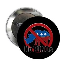 "No RINOs! v2 2.25"" Button"
