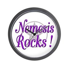 Nemesis Rocks ! Wall Clock