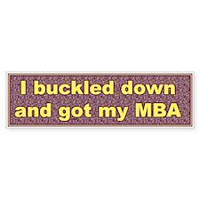 Entrepreneur Bumper Bumper Sticker