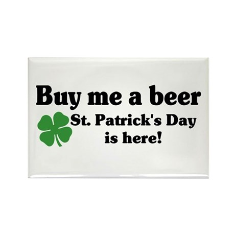 Buy me a Beer Rectangle Magnet (10 pack)