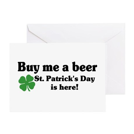 Buy me a Beer Greeting Card