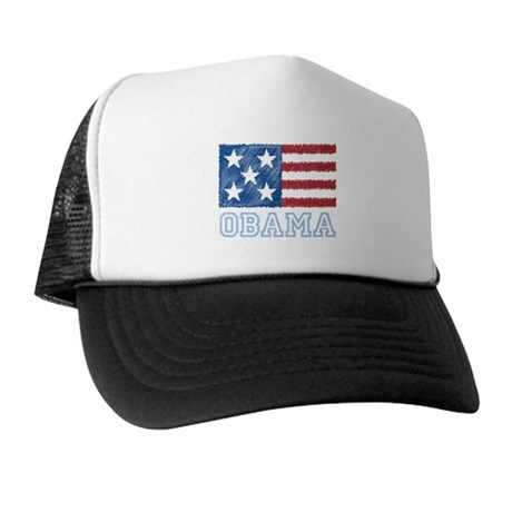 Obama Flag Trucker Hat