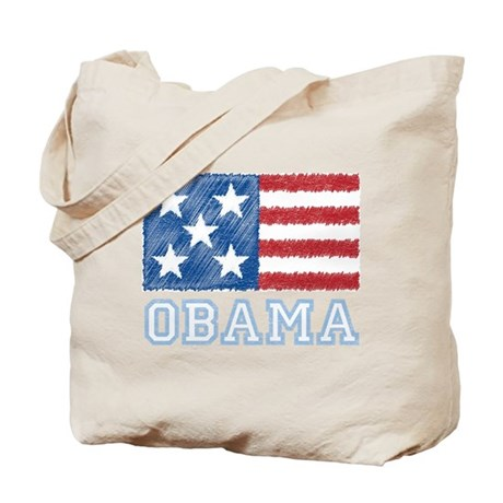 Obama Flag Tote Bag