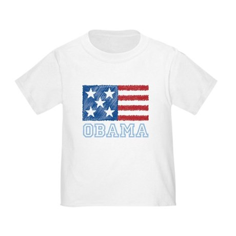 Obama Flag Toddler T-Shirt