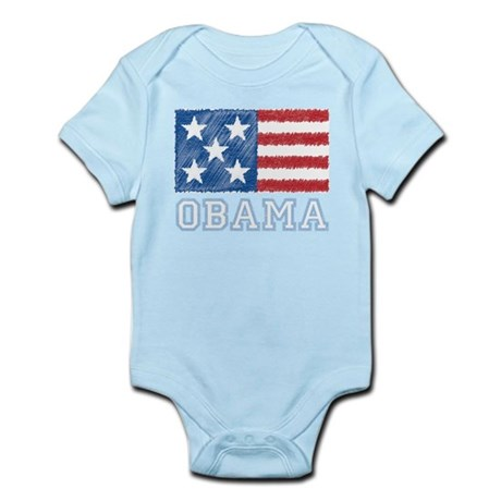 Obama Flag Infant Bodysuit