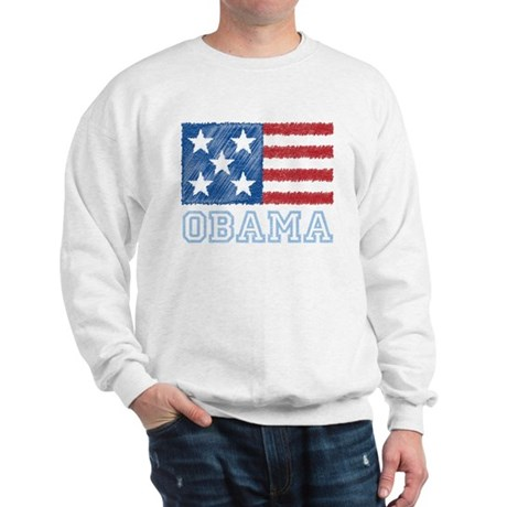 Obama Flag Sweatshirt