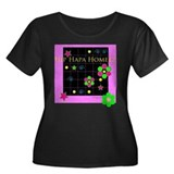 Hip HapaDelic In A Women's Plus Size Scoop Neck