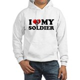 I (heart) my Soldier Jumper Hoody