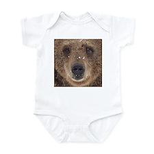 Bear Face Infant Bodysuit