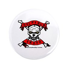 "Oilfield Trash 3.5"" Button (100 pack)"