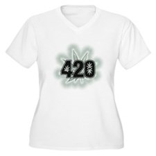 Marijuana Power Leaf 420 T-Shirt