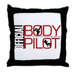 OFFICIAL BODY PILOT Throw Pillow
