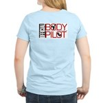 OFFICIAL BODY PILOT Women's Pink T-Shirt