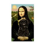 Mona - Affenpinscher3 Sticker (Rectangle)